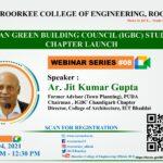 Webinar on Indian Green Building Council (IGBC)